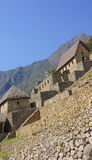 Fine stonework in Inca houses Stock Images