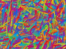 Fine structure of colorful lines. Modern abstract background with a fine structure royalty free illustration