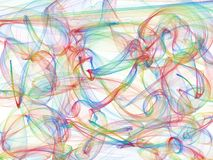 Fine structure of colorful lines. Modern abstract background with a fine structure vector illustration