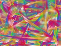 Fine structure of colorful lines. Modern abstract background with a fine structure stock illustration