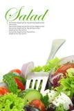 Chiuda su dell'insalata delle verdure Immagini Stock