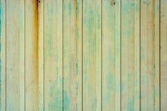 Fine su della superficie ondulata verde di struttura del metallo Fotografia Stock Libera da Diritti