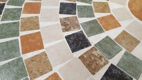 Fine su struttura del fondo del mosaico immagini stock