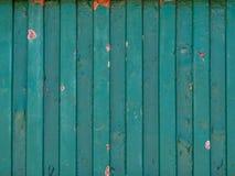 Fine sul vecchio fondo arrugginito verde del metallo fotografie stock libere da diritti