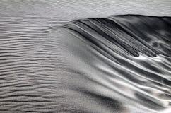 Fine sulle dune di sabbia fotografie stock libere da diritti