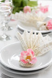 Fine table setting Stock Images