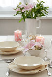 Fine table setting Royalty Free Stock Photo