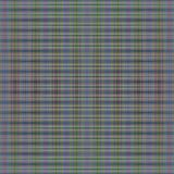 Fine tartan patterns on purple and green on gray background Stock Photo