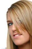 Fine teenager della ragazza in su Fotografie Stock