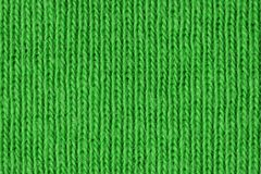 Fine verde del tessuto di cotone su Immagini Stock