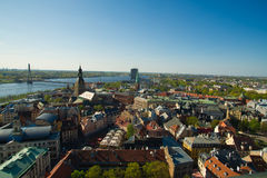 Fine view of the city of Riga Royalty Free Stock Photography
