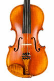 A fine violin body Royalty Free Stock Photo
