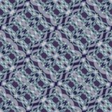 Fine white lace patterns on dark blue background, diagonal striped ornament Stock Image