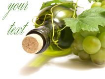 Fine white wine Royalty Free Stock Images