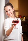 Fine wine. Royalty Free Stock Images