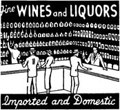 Fine Wines And Liquors Royalty Free Stock Image
