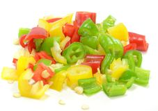 Free Finely Chopped Chilli Peppers Royalty Free Stock Image - 28170316