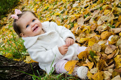 Happy toddler Royalty Free Stock Photos