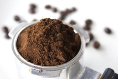 Finely ground coffee Royalty Free Stock Image