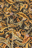 Finely woven silk carpet royalty free stock photo