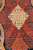 Finely woven silk carpet Stock Photography