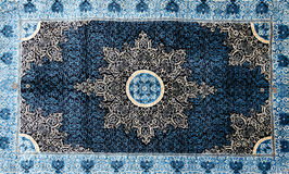 Finely woven silk carpets Stock Photography
