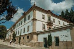Finery здания ратуши украшенный в стиле барокко стоковое изображение rf