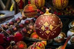 Finery рождества Шарик Кристмас Стоковое Фото