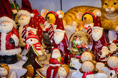 Finery boże narodzenia Santa claus Obrazy Stock