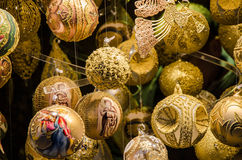 Finery of Christmas. Christmas ball Stock Image