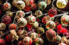Finery of Christmas. Christmas ball Royalty Free Stock Image