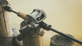 Finesse bass fishing rod and reel baitcasting