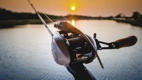 Finesse fishing. Bass fishing. bass. lurefishing. finesse. lure Royalty Free Stock Photo