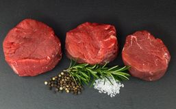 Beef Filet Mignon stock images