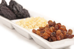 Finest dried variety fruit Stock Image