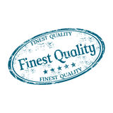 Finest quality grunge rubber stamp Stock Image