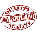 Finest quality. Rubber stamp with text finest quality inside,  illustration Royalty Free Stock Images