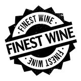 Finest Wine rubber stamp Royalty Free Stock Images