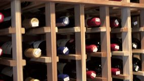 Finest Wines (4 of 6) stock video
