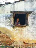 Finestra Λα στοκ φωτογραφία με δικαίωμα ελεύθερης χρήσης