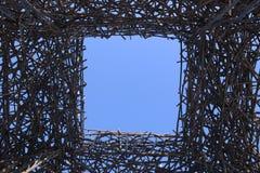 Finestra al cielo Fotografia Stock Libera da Diritti