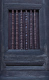 Finestra antica sulla vecchia pagoda Fotografie Stock