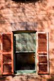 Finestra aperta Fotografie Stock