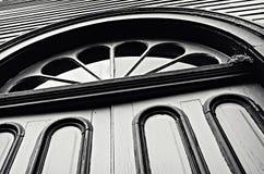 Finestra astratta delle porte Immagini Stock Libere da Diritti