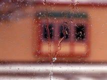 Finestra attraverso la finestra Immagine Stock