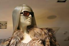 Finestra-bambola Immagini Stock Libere da Diritti