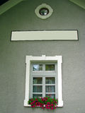Finestra bianca, Fotografia Stock Libera da Diritti