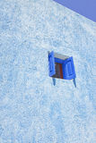 Finestra blu Fotografia Stock Libera da Diritti