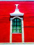 Finestra coloniale immagini stock