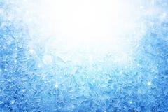 Finestra congelata Immagini Stock